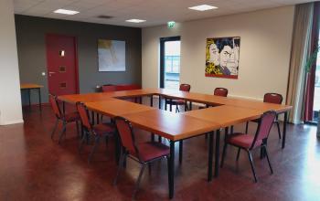 Prachtige vergaderzalen in De Boei